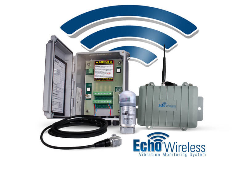 Echo® Wireless Vibration Monitoring System